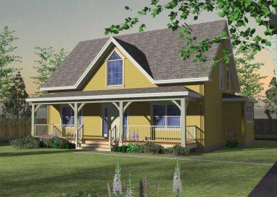 Granville exterior rendering