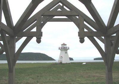 Picnic Shelter at Five Islands Lighthouse Park