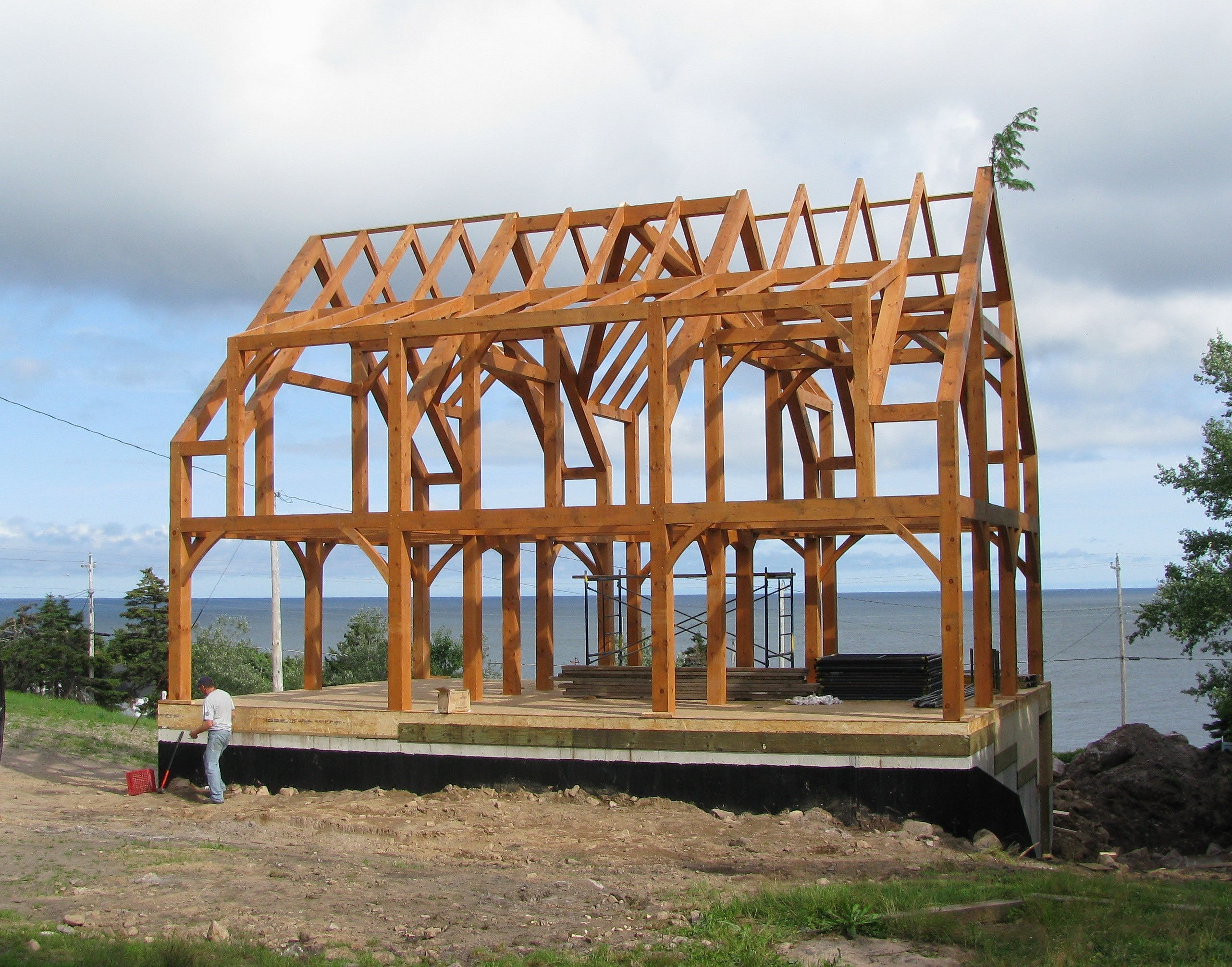 timber frame high res image