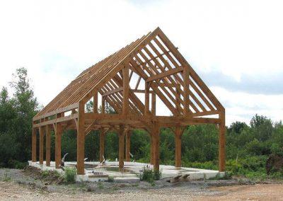 Full timber frame