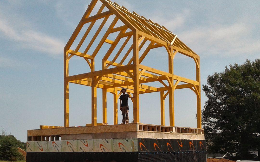 Pine Timber Frame